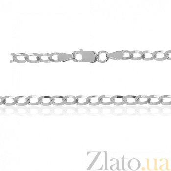 Серебряная цепь Ариан, 55 см, 4,5 мм 000030838