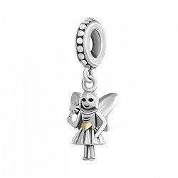 Серебряный шарм Маленькая фея 000035233
