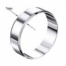 Обручальное кольцо из белого золота Страна любви