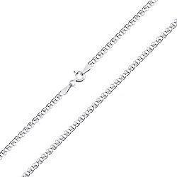 Серебряная цепь с родием, 2 мм 000026052