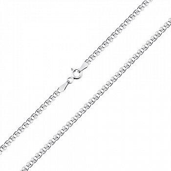 Срібний ланцюг з родієм, 2 мм 000026052