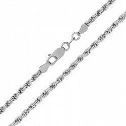 Серебряная цепь с родированием, 2 мм 000026221