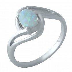 Серебряное кольцо с опалом 000128288