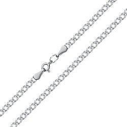 Серебряный браслет в плетении ромб 000115208