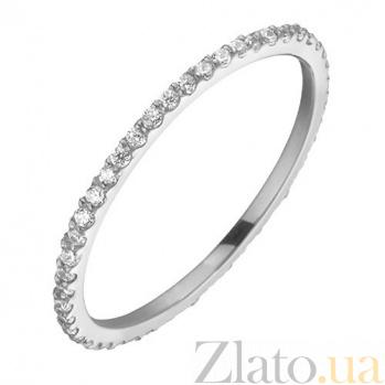 Кольцо из белого золота с фианитами Анджелин SVA--110148310201