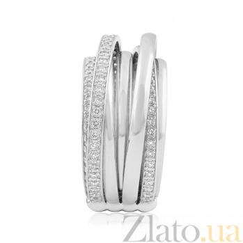 Золотое кольцо с брилиантами Фрида EDM-КД/1Д
