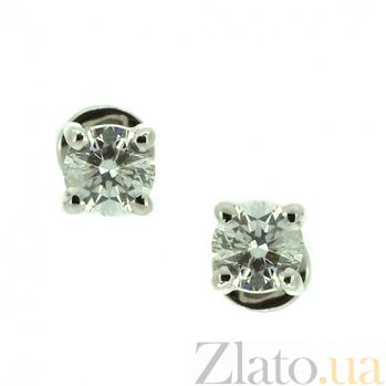 Золотые серьги с бриллиантами Агнеса ZMX--ED-6633w_K