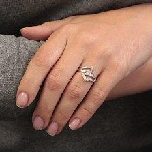 Серебряное кольцо с цирконием Измира
