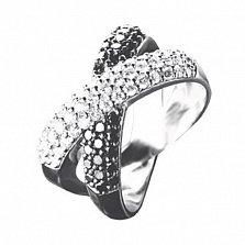 Золотое кольцо с бриллиантами Брижит