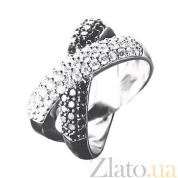 Золотое кольцо с бриллиантами Брижит KBL--К1689/бел/брил