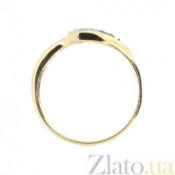 Кольцо из красного золота с рубинами и бриллиантами Инэс ZMX--RR-8841_K