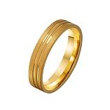 Золотое обручальное кольцо Стремление