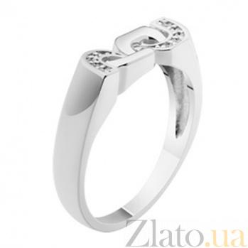 Золотое кольцо с бриллиантами Camille KBL--К1709/бел/брил
