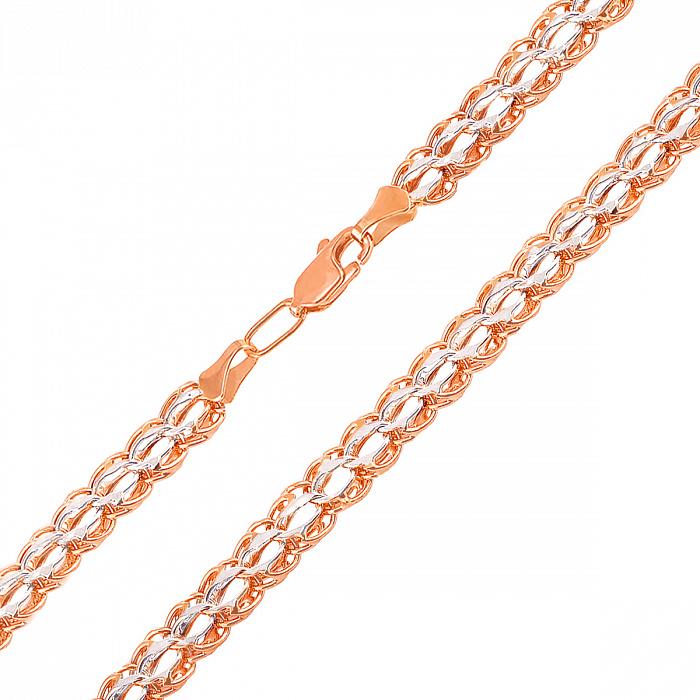 Золотая цепочка в комбинированном цвете 000125991 000125991