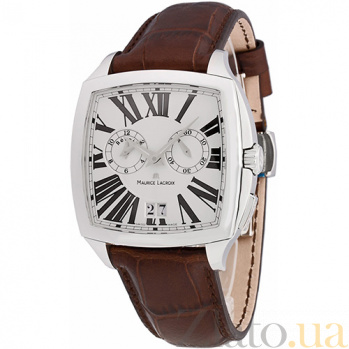 Часы Maurice Lacroix коллекции Miros Coussin MLX--MI5027-SS001-111