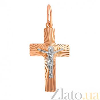 Золотой крестик Утешение SUF--511113н