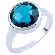 Кольцо из серебра Малика с топазом лондон