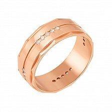 Обручальное кольцо Крепкая любовь