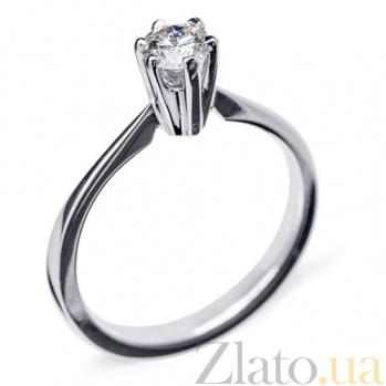 Кольцо Единственная с бриллиантом R 0462
