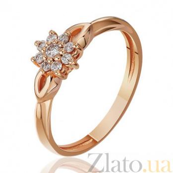 Золотое кольцо с бриллиантами Обольщение EDM--КД7476