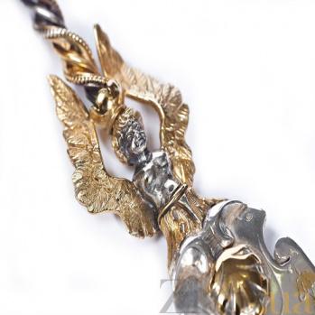 Серебряная столовая ложка Готика 1289
