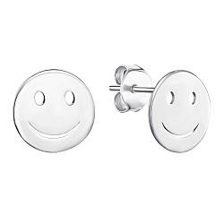 Серебряные серьги-пуссеты в стиле минимализм 000125678