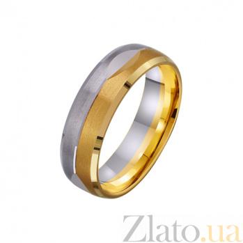 Золотое обручальное кольцо Искренняя любовь TRF--451734