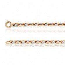 Золотая цепь Механика стиля в комбинированном цвете