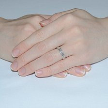 Серебряное кольцо Жадана