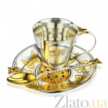 Детский серебряный набор посуды Сказочный сад 3.8.0391_3