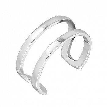 Серебряное кольцо на фалангу New Look 000027999