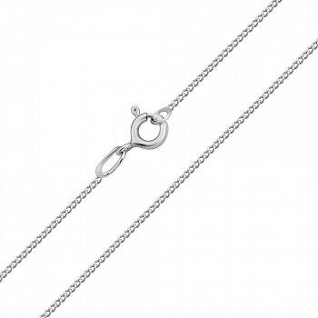 Ланцюжок з білого золота в плетінні гурмет 000117544