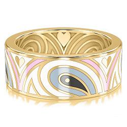 Золотое обручальное кольцо Талисман: Гармонии 000009995