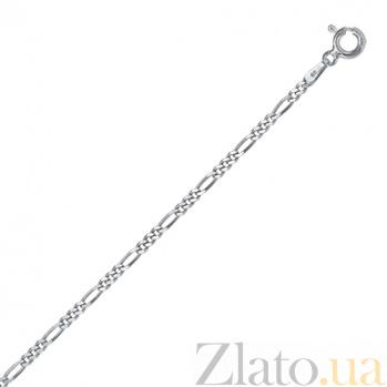 Серебряная цепь Сарагоса, 2 мм, 55 см 000027646