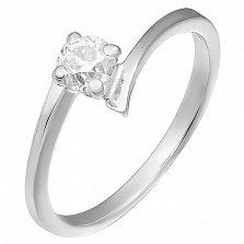 Золотое кольцо с бриллиантом Возлюбленная