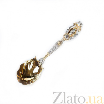 Серебряная столовая ложка Людовик 012