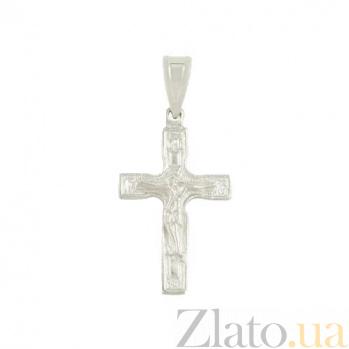 Серебряный крестик Мессия 3П480-0001