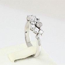 Золотое кольцо с сапфирами Watch me