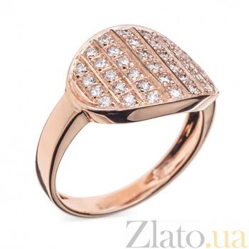 Золотое кольцо с бриллиантами Шанталь R 0702