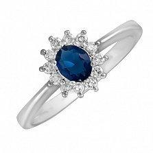 Серебряное кольцо с цирконием Анкария