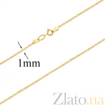 Золотая цепочка в евро цвете Адайн SVA--5092492103/Без вставки