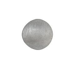 Серебряная серьга-пуссета Адажио круглой формы