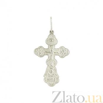 Серебряный крестик НИКА 3П570-0020