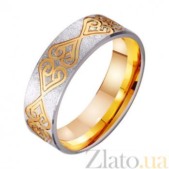 Золотое обручальное кольцо Красота чувств TRF--411434