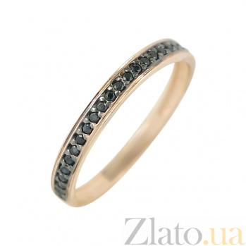 Золотое кольцо с фианитами Элиссон 000026591