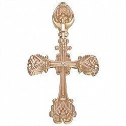 Крестик в красном золоте Независимость 000054849