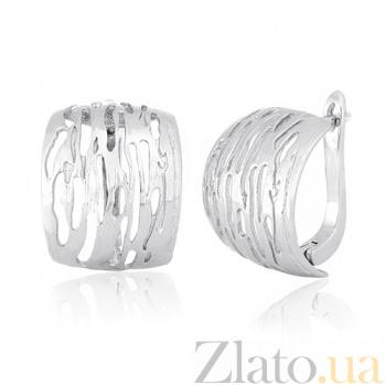 Серебряные серьги Финляндия SLX--СК2/070