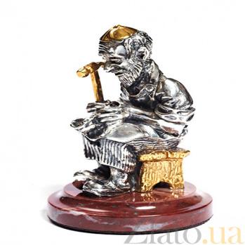 Серебряная статуэтка Сапожник 1340