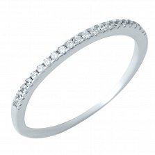 Серебряное кольцо Селия с фианитами