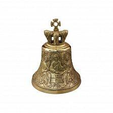Бронзовый колокольчик Святая Троица с ликами ангелов